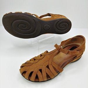Clarks | Artisan Collection Suede Comfort Sandals